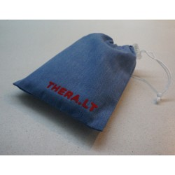 Prekių krepšelis mėlynas